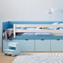 Modrý dětský pokoj