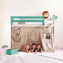 Vysoké postele se skrýší na hraní