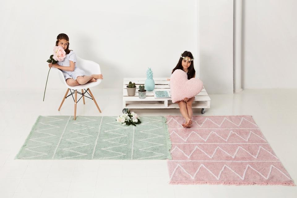 <p>Ke každému polštářku si můžete vybrat barevně sladěný koberec. A naopak.</p>