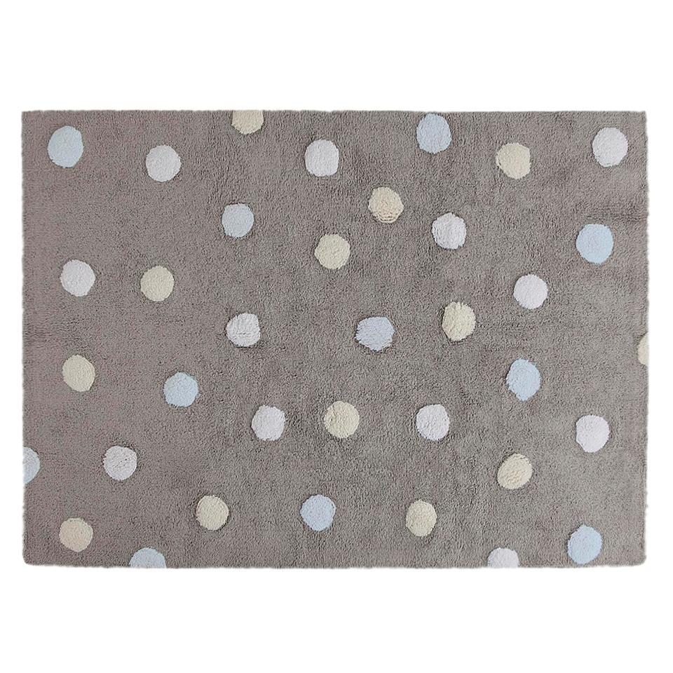<p>Koberec s barevnými puntíky, 100% bavlna, 120x160cm.</p> <p></p> <p></p> <p></p>