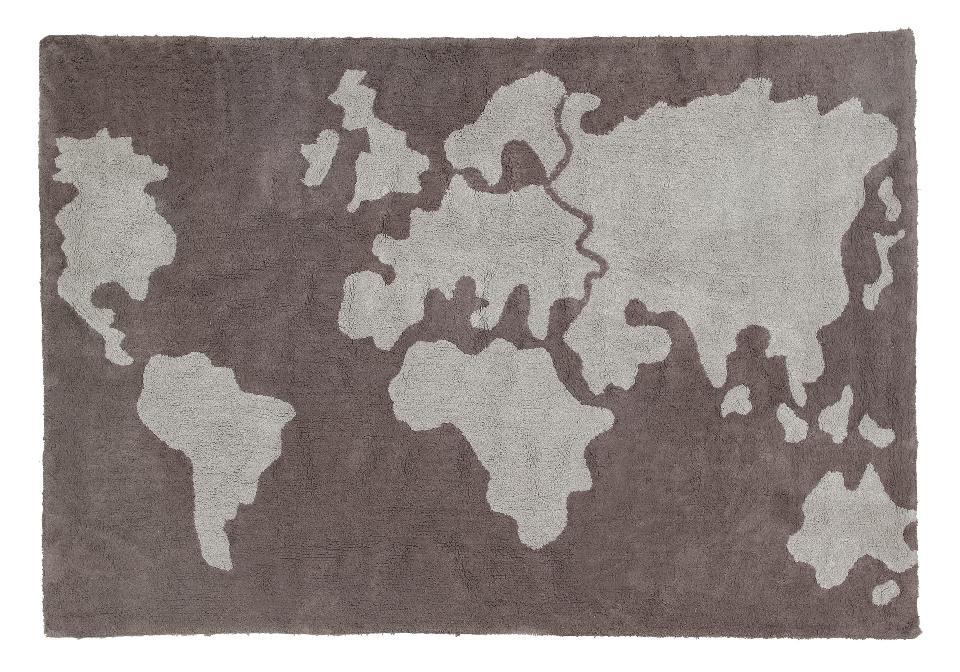 <p>Koberec mapa světa 140*200cm. 100% bavlna</p>