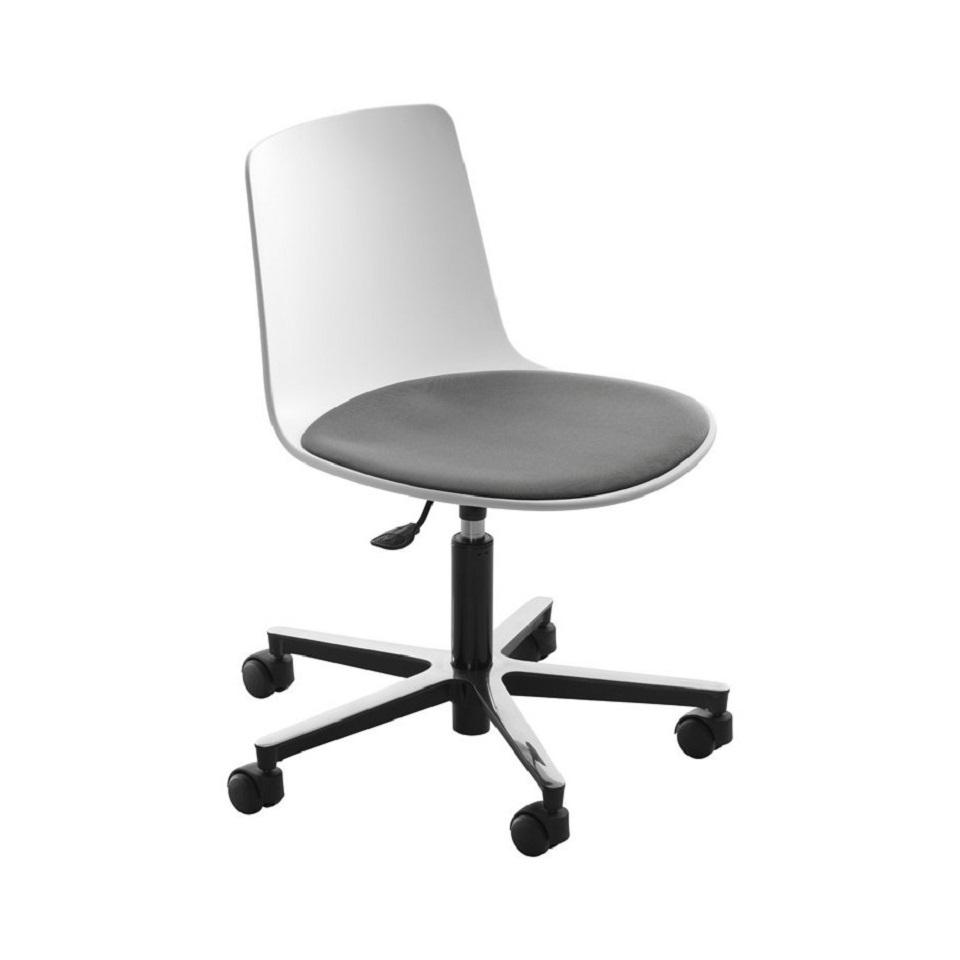 <p>Pracovní židle LOTTUS, volitelná barva skořepiny, volitelný materiálu sedáku, volitelné područky, stavitelnost výšky sedáku.</p>